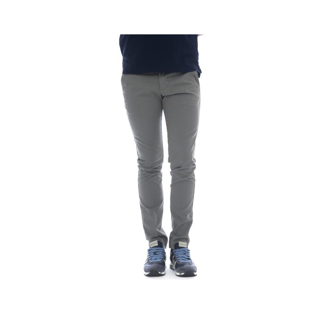 Pantaloni - 8201 292l17 gabardina strech 315 - Grigio 315 - Grigio