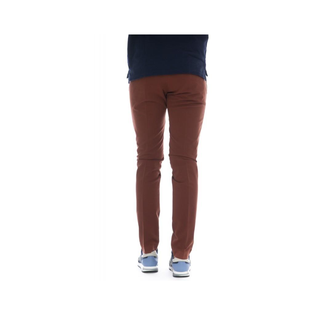 Pantaloni - 8201 292l17 gabardina strech 802 - Mattone 802 - Mattone