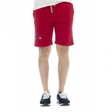 Bermuda - 17147 bermuda felpa jogging 10 - Rosso 10 - Rosso