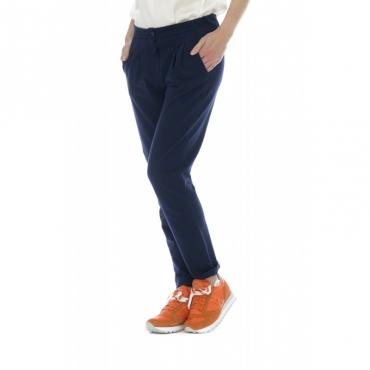 Pantalone donna - 509 fv25 pantalone pence 4000 - Blu 4000 - Blu