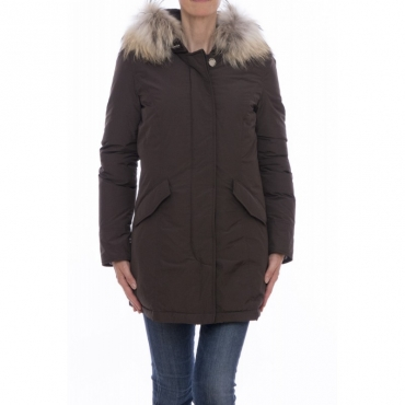 Piumino - WWCPS2131 SM20 ws luxury artic parka 711 - Chocolate 711 - Chocolate