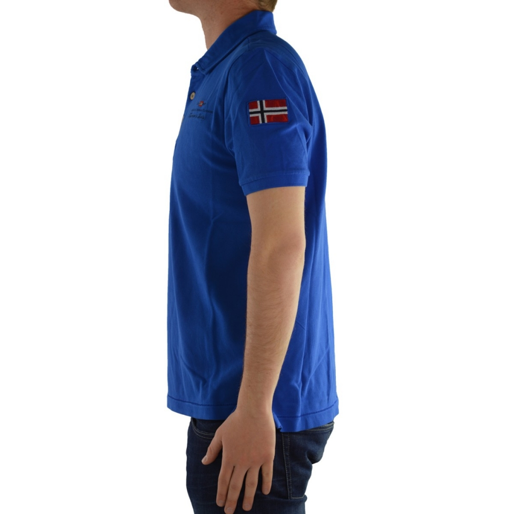 Polo Napapijri Uomo Mezzamanica B31 BLUE REBEL B31 BLUE REBEL