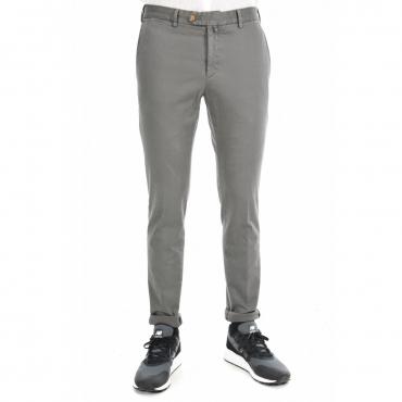 Pantalone Verdera Uomo Gabardina Tasca America 21 BLU 21 BLU