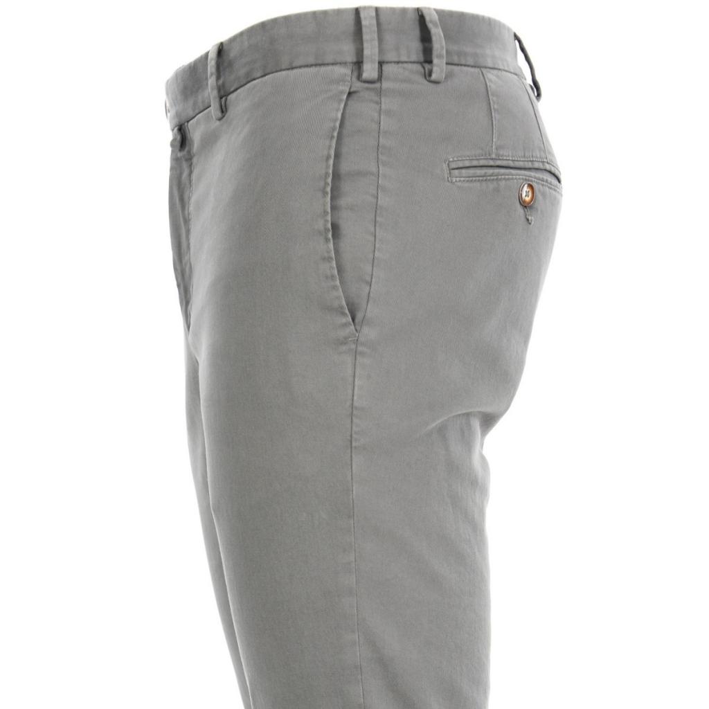 Pantalone Verdera Uomo Gabardina Tasca America 3 GRIGIO 3 GRIGIO