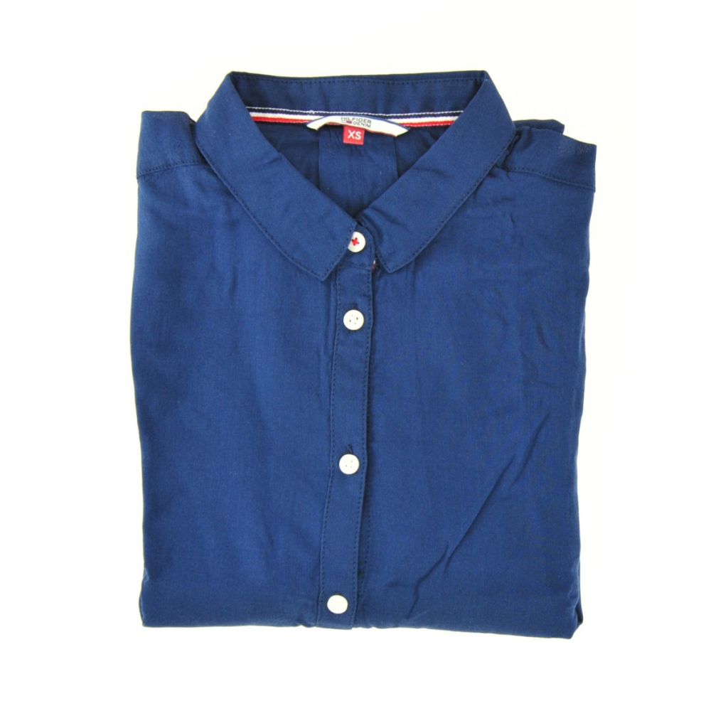 Camicia Tommy Hilfiger Donna Dress 418 DRESS BLUE 418 DRESS BLUE