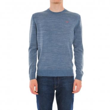 Sweater Napapijri Man Damavand Half Zip 197 DARK GRAY  139e499c9ee