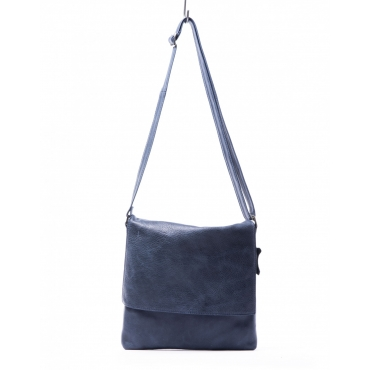 BORSA PELLE A TRACOLLA JEANS JEANS