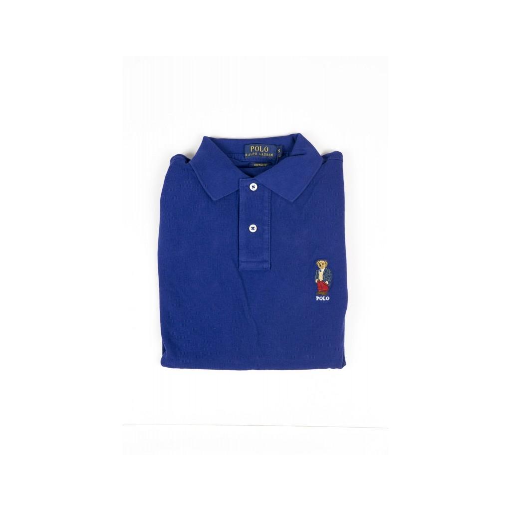 Polo Manica Corta Uomo - A12Kj646C8312 A497H - BLU A497H - BLU