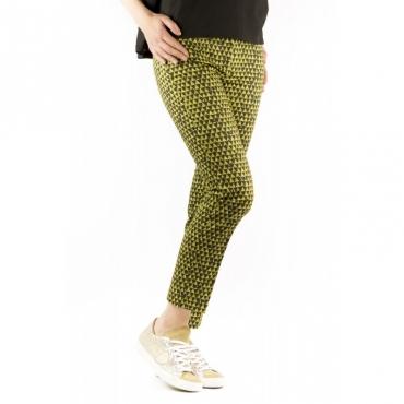 Pantalone Donna - 171522 Debora D6190 Pant Fantasia Geometrica 628 -fantasia 628 -fantasia