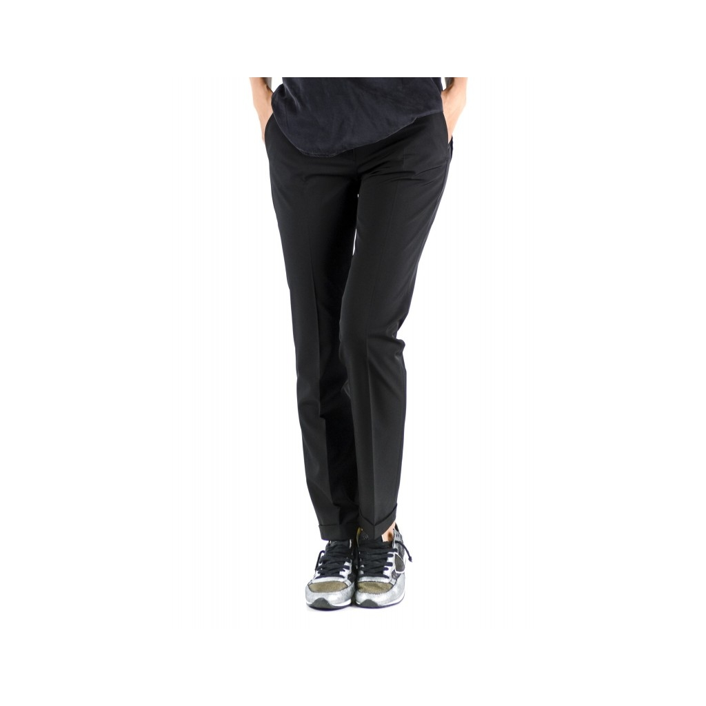 Woman Pants - 172516 D4428 Leyre 990 - black