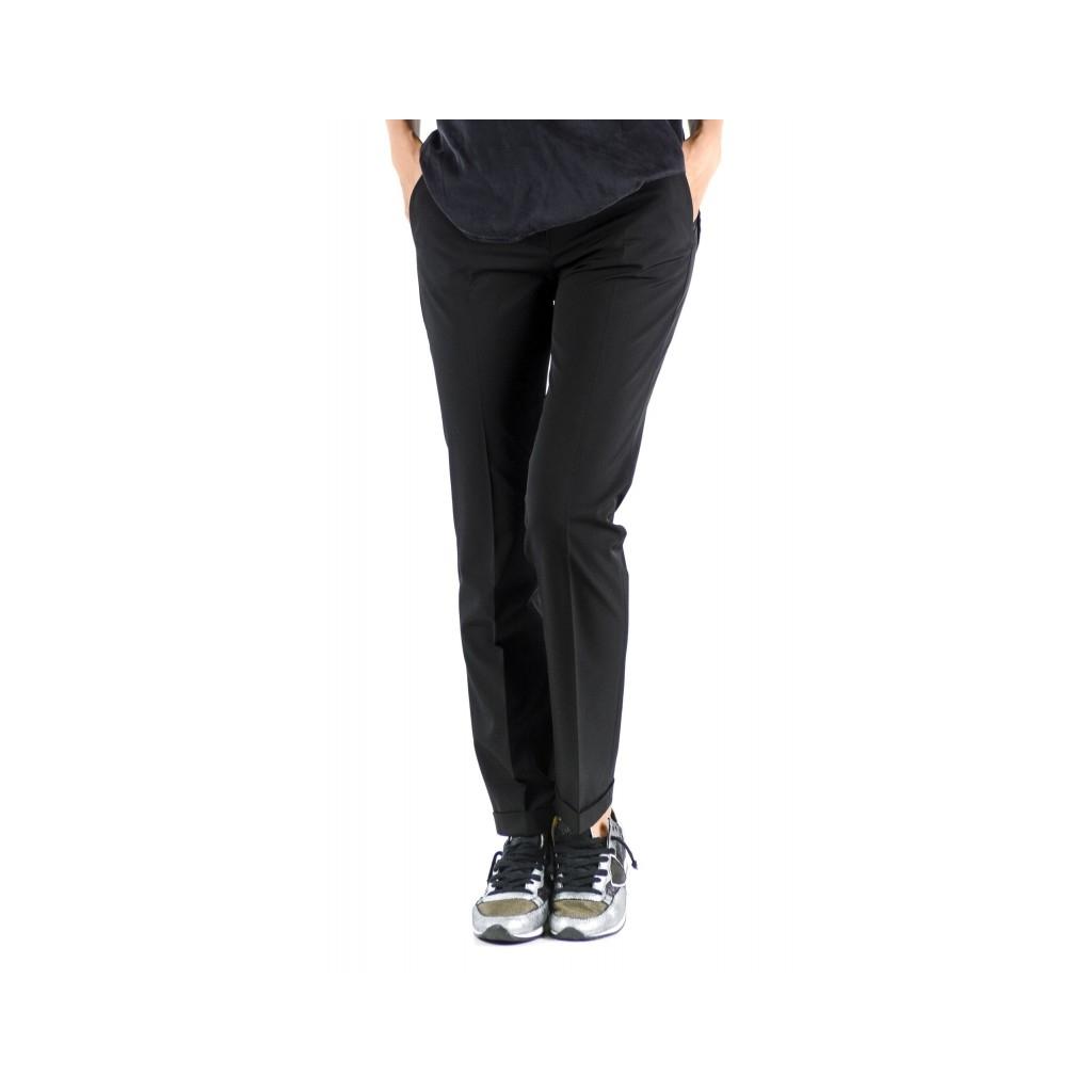 Pantalone Donna - 172516 D4428 Leyre 990 - nero 990 - nero