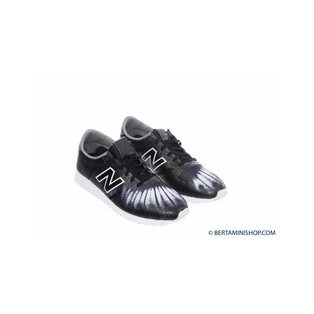 Scarpa Donna - WL 420 Running Anni 70 Stampa DFC - Nero grigio DFC - Nero grigio