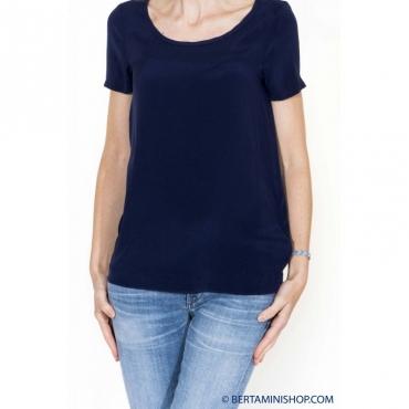 T-shirt donna - 2105o 1358 - Blu 1358 - Blu