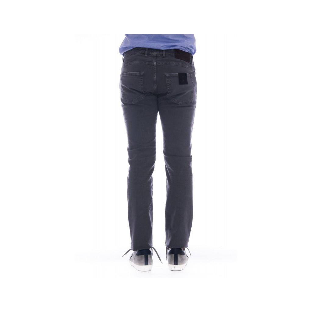 Pantalone PT 05 Uomo - C646LT RS51 bull lavato strech 0240 - Grigio 0240 - Grigio