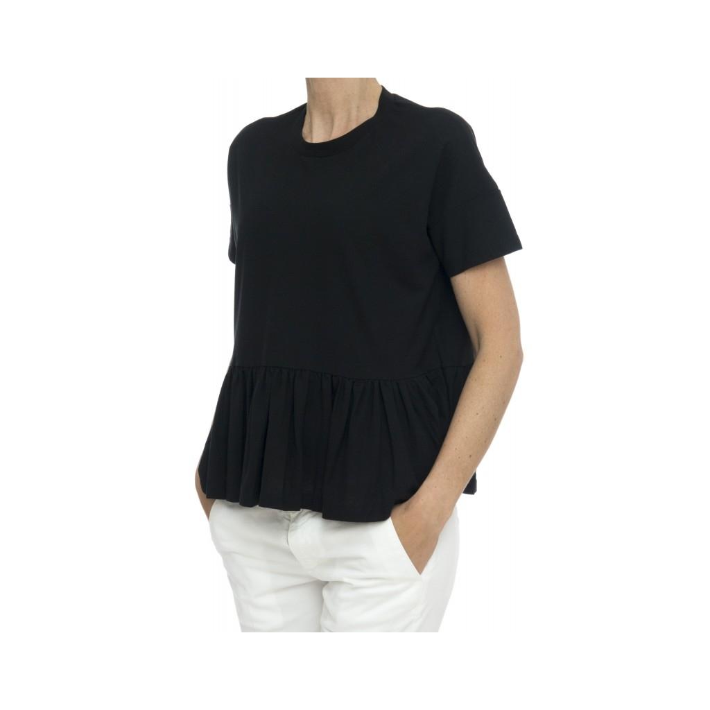 T-shirt - 852004 z0480 t-shirt rouge ice cotton Z0015 - nero Z0015 - nero
