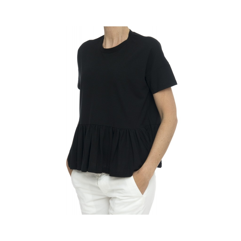 T-shirt - 852004 z0480 t-shirt rouge ice cotton Z0015 - nero Z0015 - nero