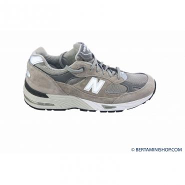 Sneakers Uomo- M991 made in uk mesh suede GL - Grigio GL - Grigio