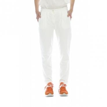 Pantalone donna - 509 fv25 pantalone pence 1V00 - Panna 1V00 - Panna