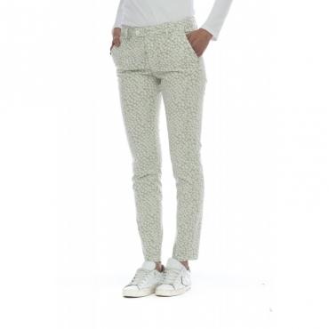Pantaloni - Janet 2178 stampa PANNA PANNA