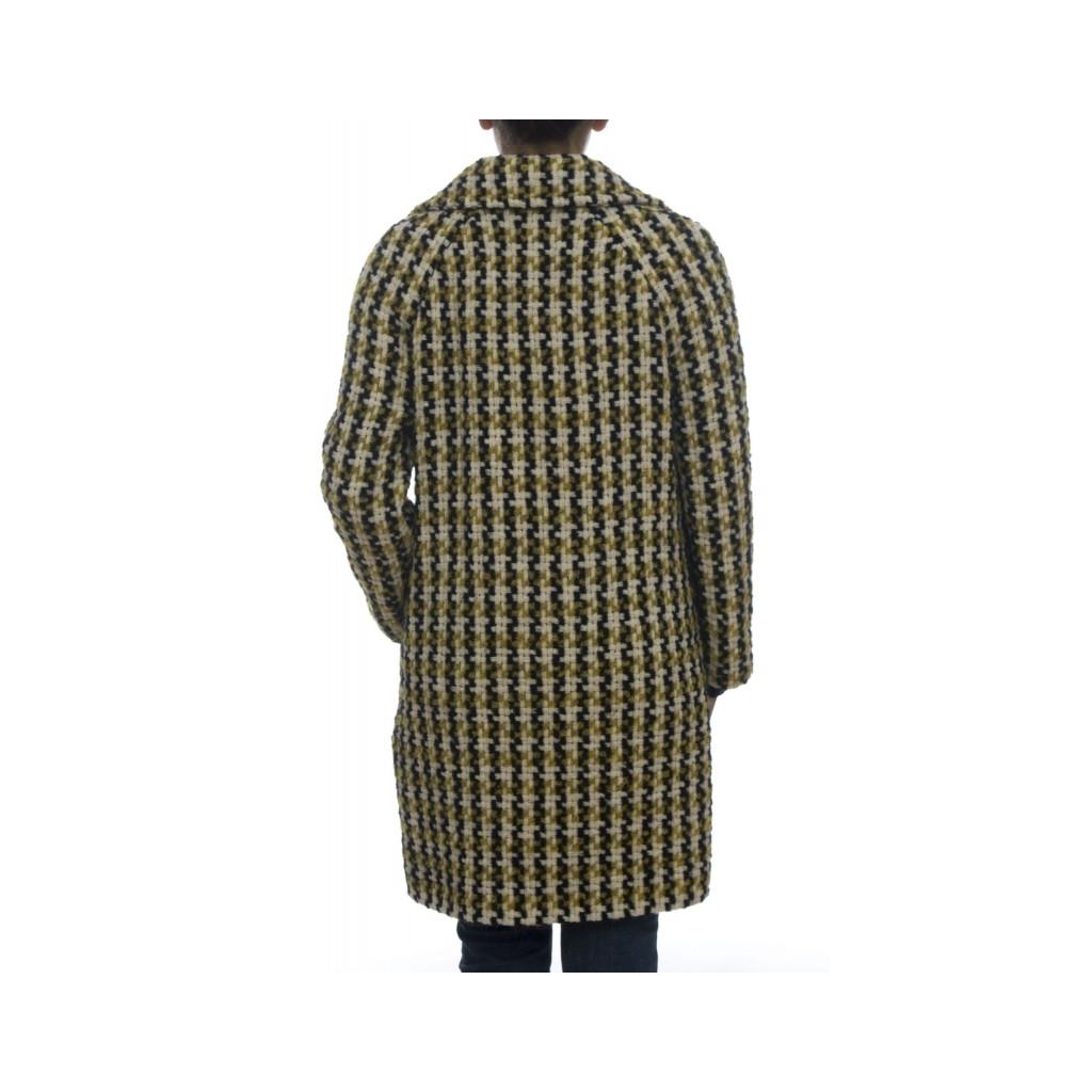 Cappotto - Fd1016  cappotto fantasia 006 - Giallo 006 - Giallo