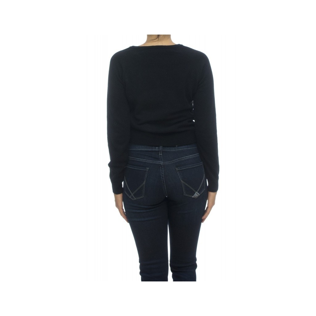 Maglia donna - J1122 maglia rouge 003 - nero 003 - nero