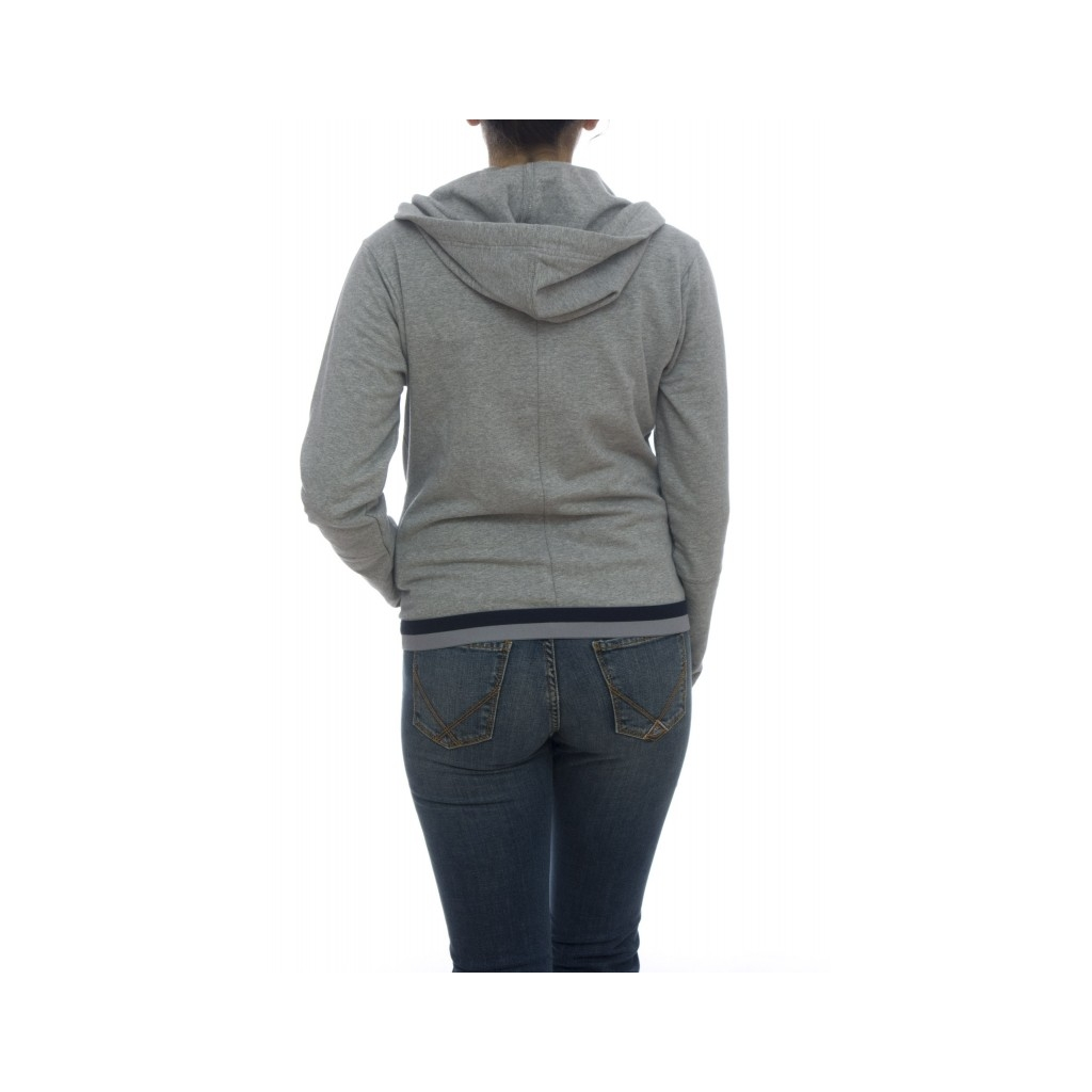 Felpa - 4561D34 felpa zip M020 - Grey M020 - Grey