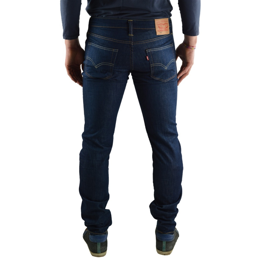 Jeans Levi's 511 Slim Fit Acre Rinse Uomo 1362 ACRE RINSE 1362 ACRE RINSE