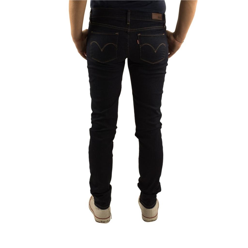 Jeans Levi's Donna Demi Curve Skinny Richest Indingo 0447 RICHEST IND 0447 RICHEST IND