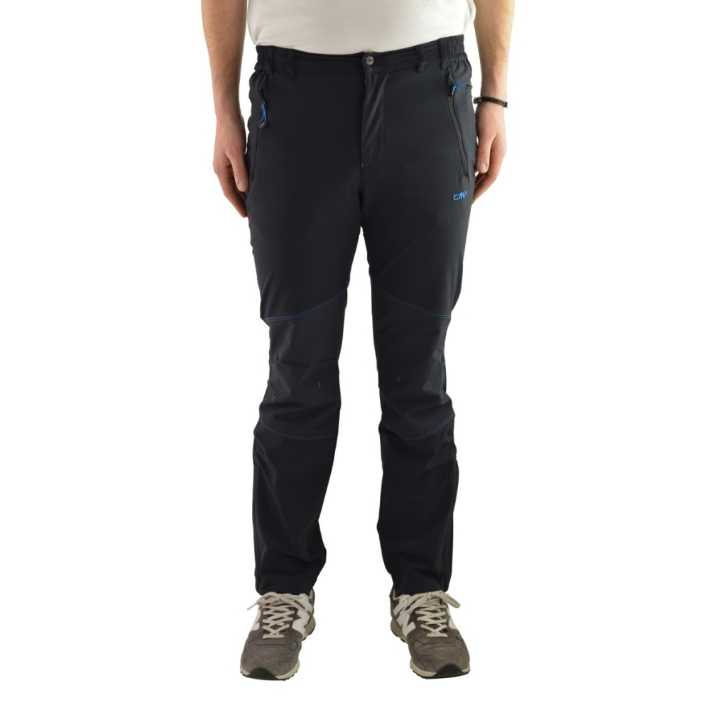 Pants Cmp Man Technical Reinforced 164P BLACK VELA