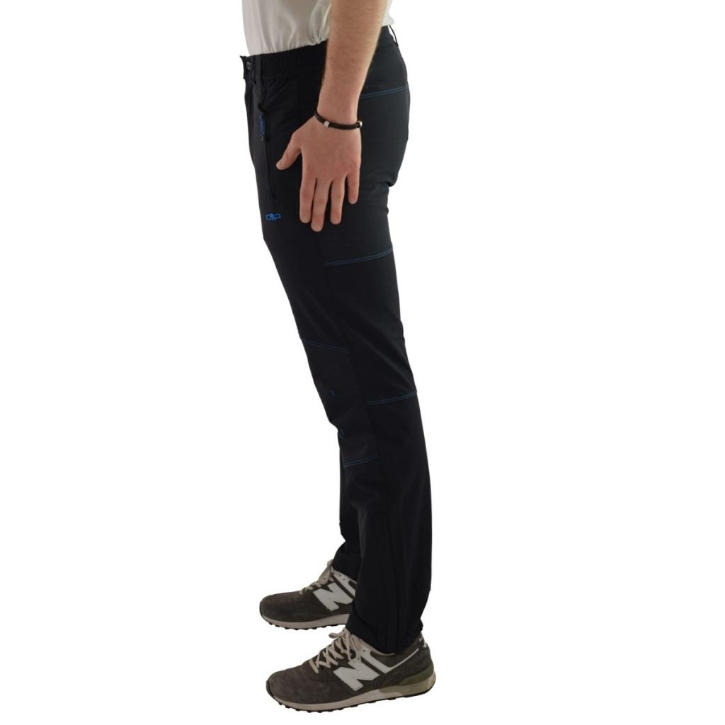 Pantalone Cmp Uomo Tecnico Rinforzato 164P NERO VELA 164P NERO VELA