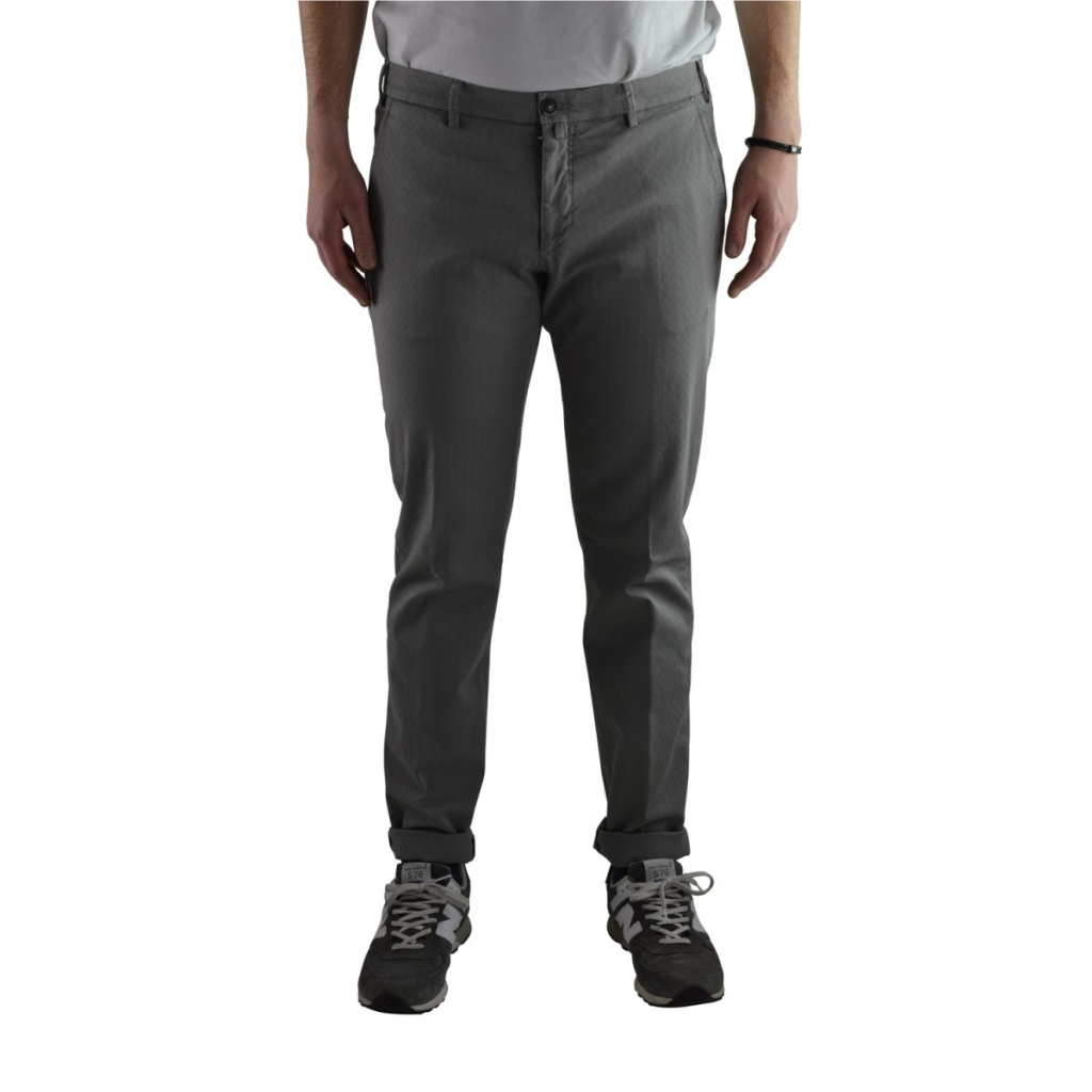 Trousers Verdera Man Superslim Stretch 11 GRAY