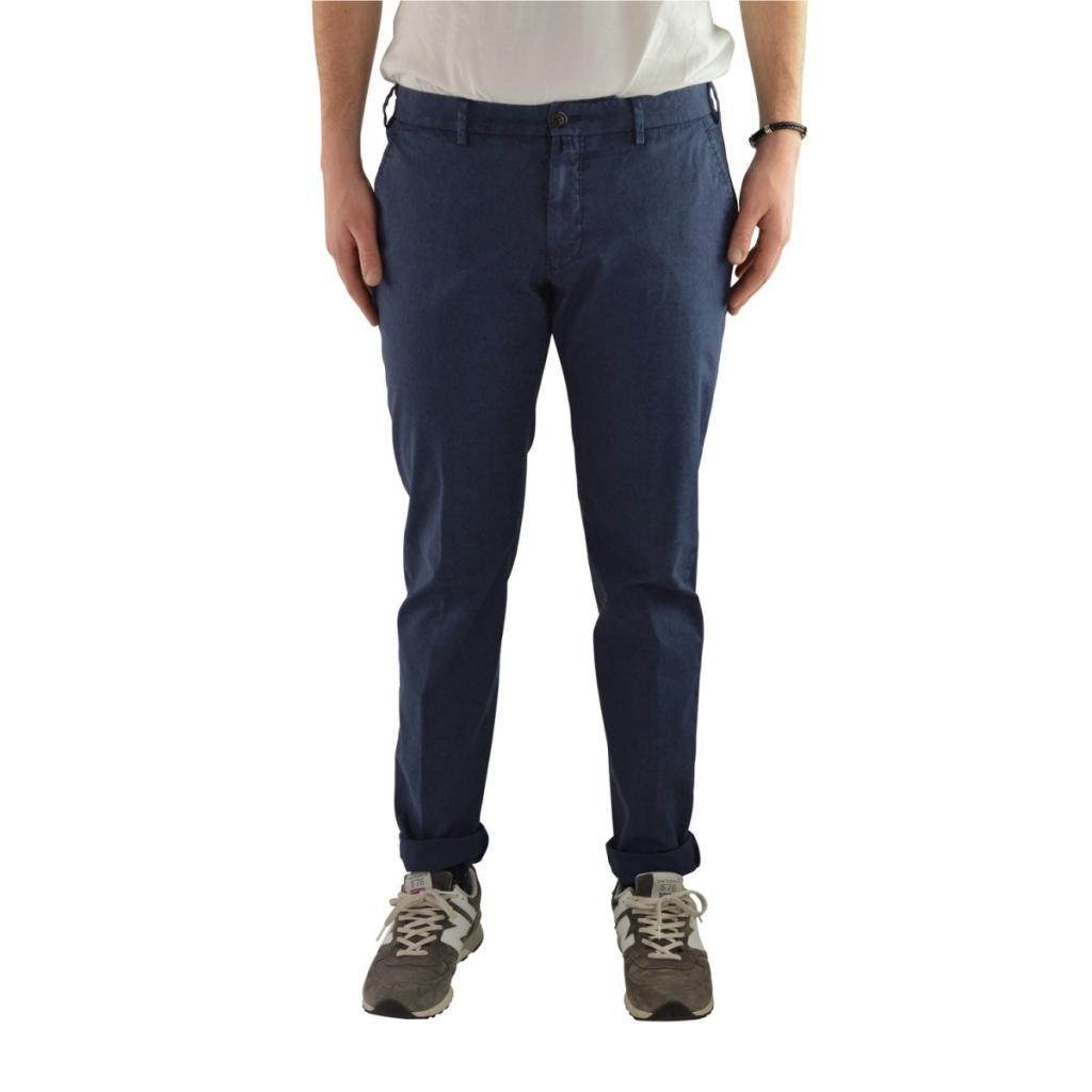 Pantalone Verdera Uomo Superslim Fantasia Stretch 12 GRIGIONE 12 GRIGIONE