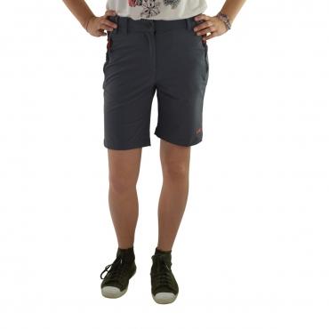 Pantaloncino Cmp Donna Stretch Tecnico Shorts 145P GREY 145P GREY