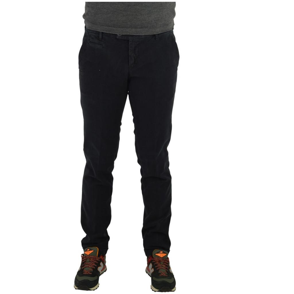 Pantalone Uomo Vicent Fantasia Cotone Felpato 10 GRIGIO SCURO 10 GRIGIO SCURO