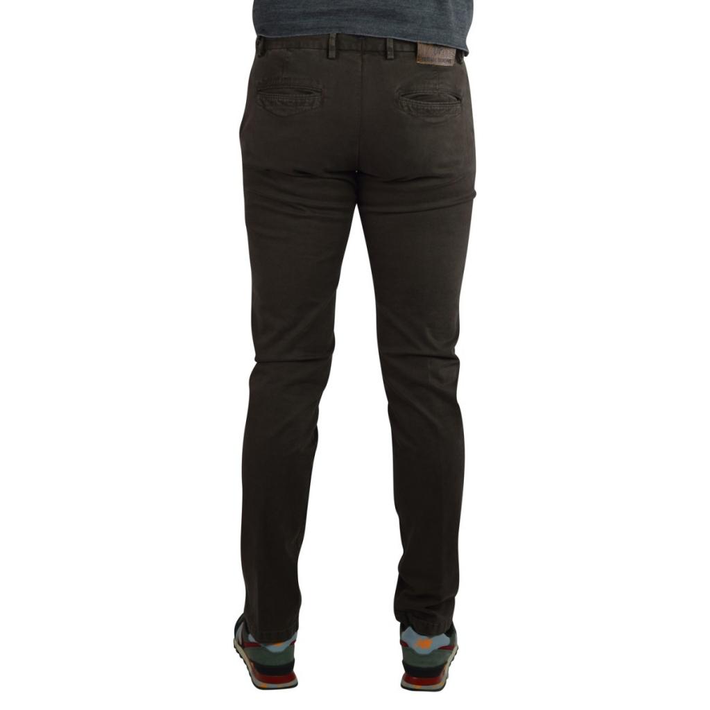 Pantalone Verdera Uomo Tessuto Invecchiato Tasca Amer 10 MARRONE 10 MARRONE
