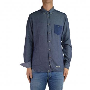 Camicia Tintoria Mattei Uomo Taschino Jeans  AE1 AE1