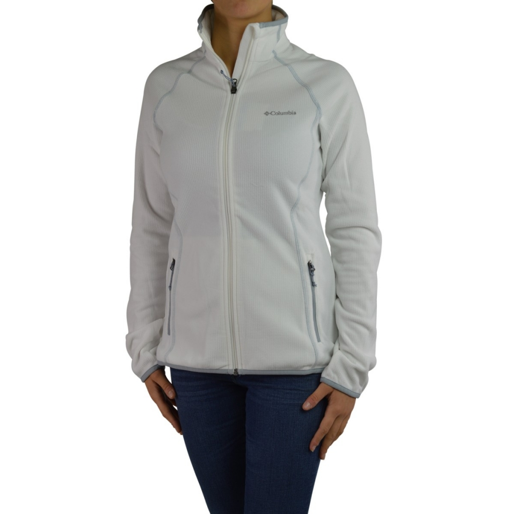 Pile Columbia Donna Tecnico Zip Aperto 125 SEA SALT