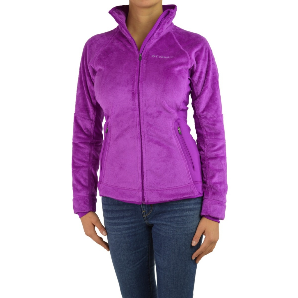 Pile Columbia Frauen Bär Technician 530 BRIGHT PLUM