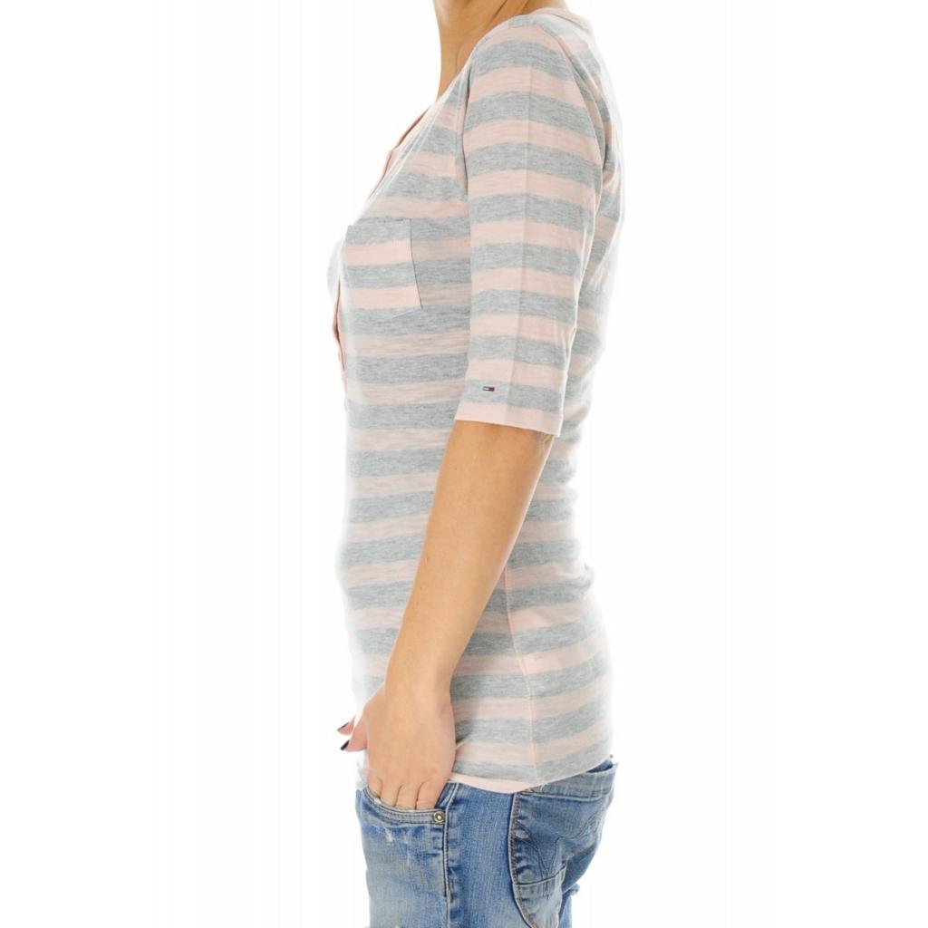 T-shirt Donna Tommy Hilfiger Manica Tre Quarti 272 PEACH 272 PEACH
