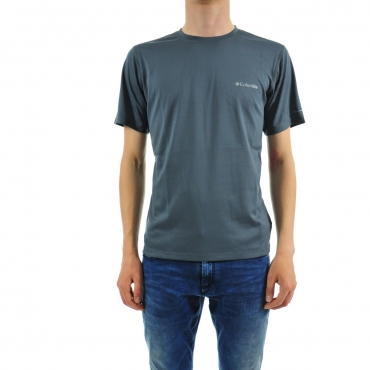 T-shirt Columbia Uomo Omni Freeze Tecnico 053 GRAPHITE 053 GRAPHITE