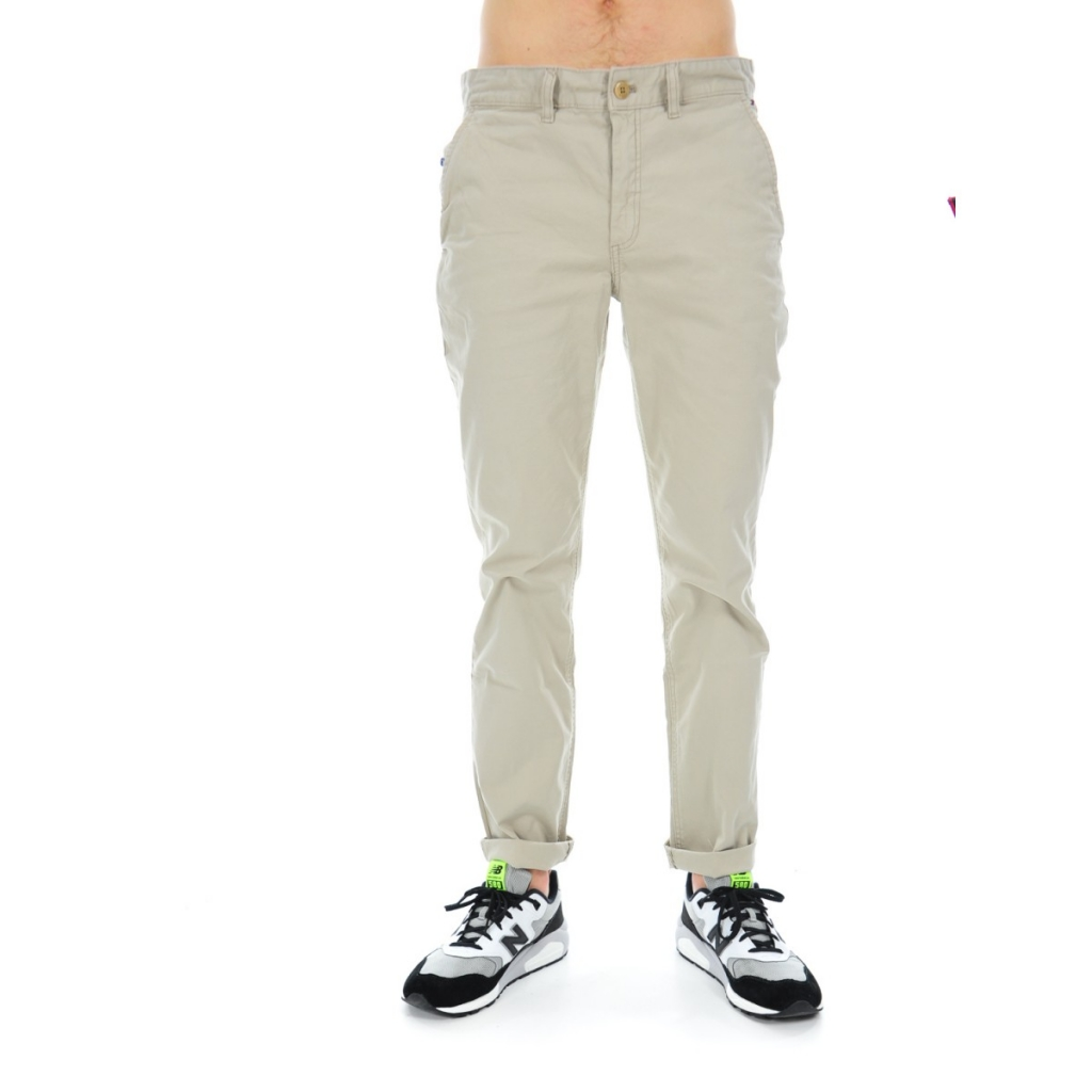 Hosen Herren Tommy Hilfiger Cotton Stretch 248 PLAZA TAUPE