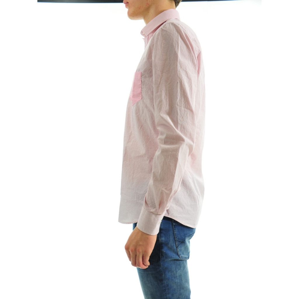 Camicia Uomo Etichetta 35 Stretch  314 ROSSO 314 ROSSO