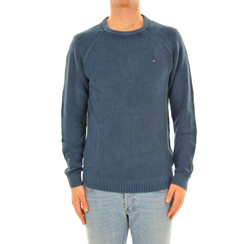 Sweater Tommy Hilfiger Man English Coast 417 BLUE