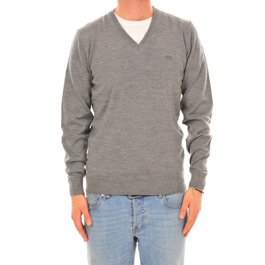 Shirt Lacoste Man Pullover UWC STONE CHINE