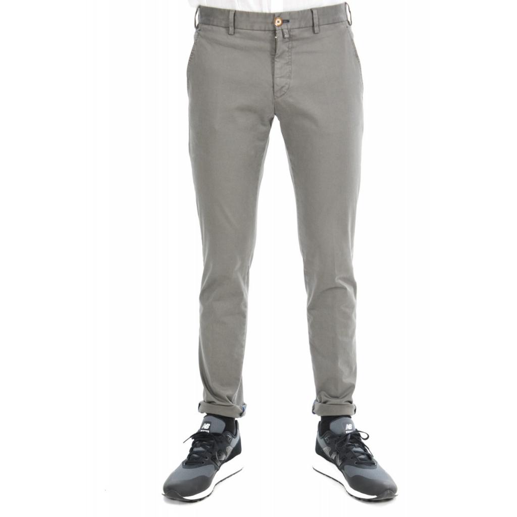 Pantalone Verdera Uomo Vintage Elasticizzato 10 TORTORA 10 TORTORA