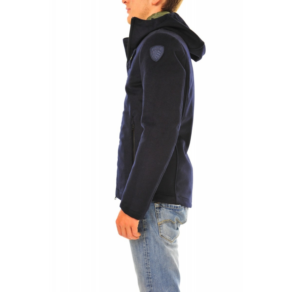buy popular 2ec18 f8802 Blauer Jacket Man Lana Cotta Interne Feder 888 BLUE