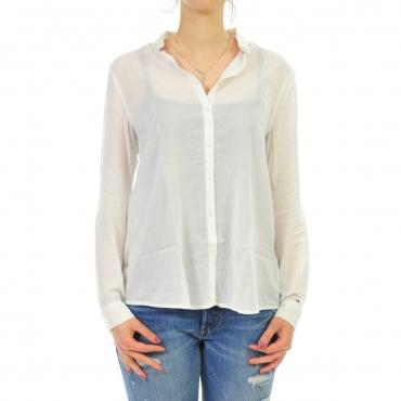 Camicia Tommy Hilfiger Donna Dress 113 BRIGHT WHITE 113 BRIGHT WHITE