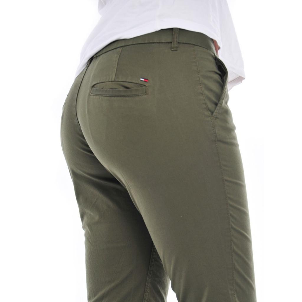 Pantalone Tommy Hilfiger Donna Chino 392 GRAPE LEAF 392 GRAPE LEAF