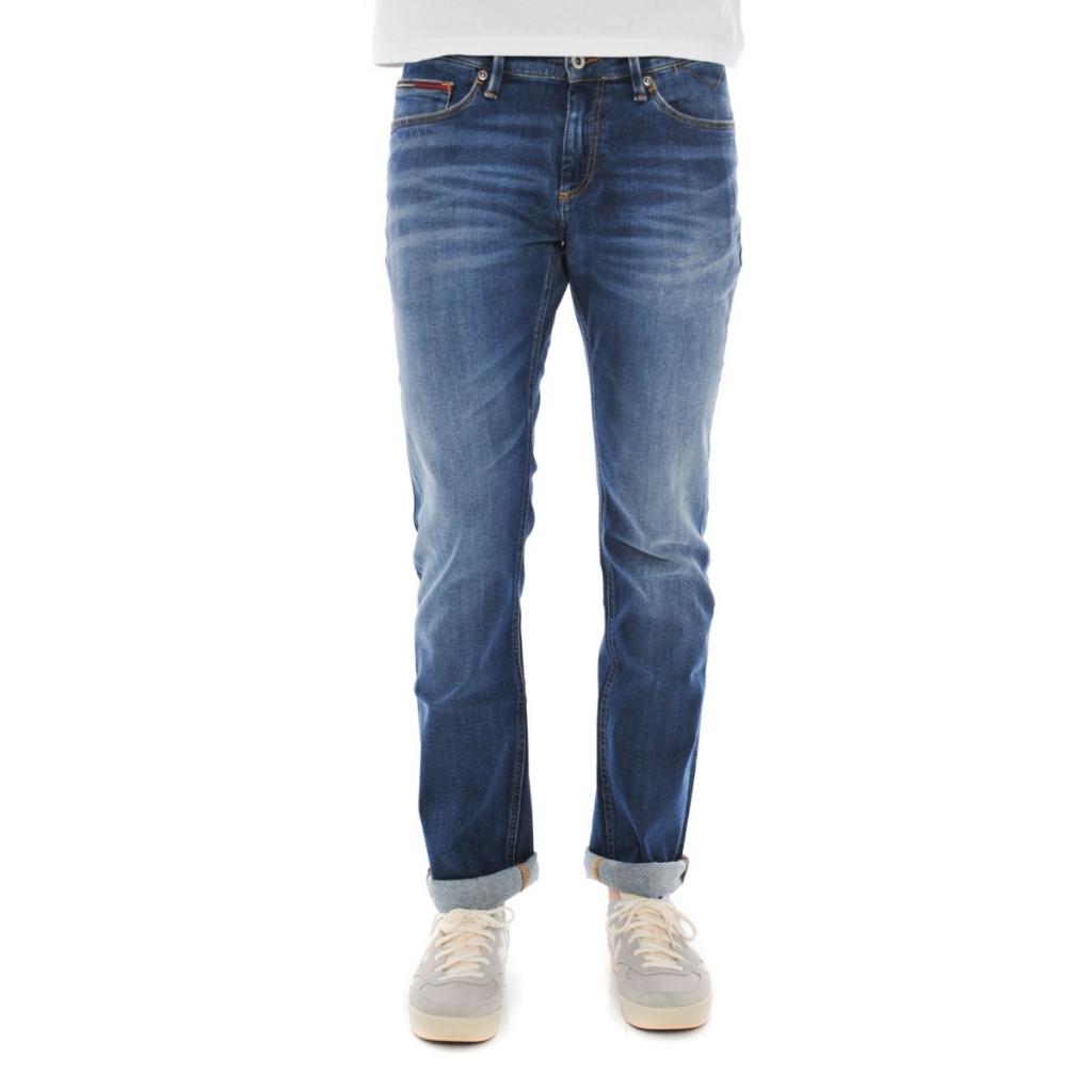 9674cdfe Tommy Hilfiger Jeans Man Scanton Dynamic Stretch 911 MID | Bowdoo.com