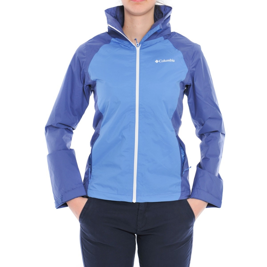 Columbia Women's Omni Tech Jacket Tapanga Trail Jacket 570 MEDIOVAL BLU